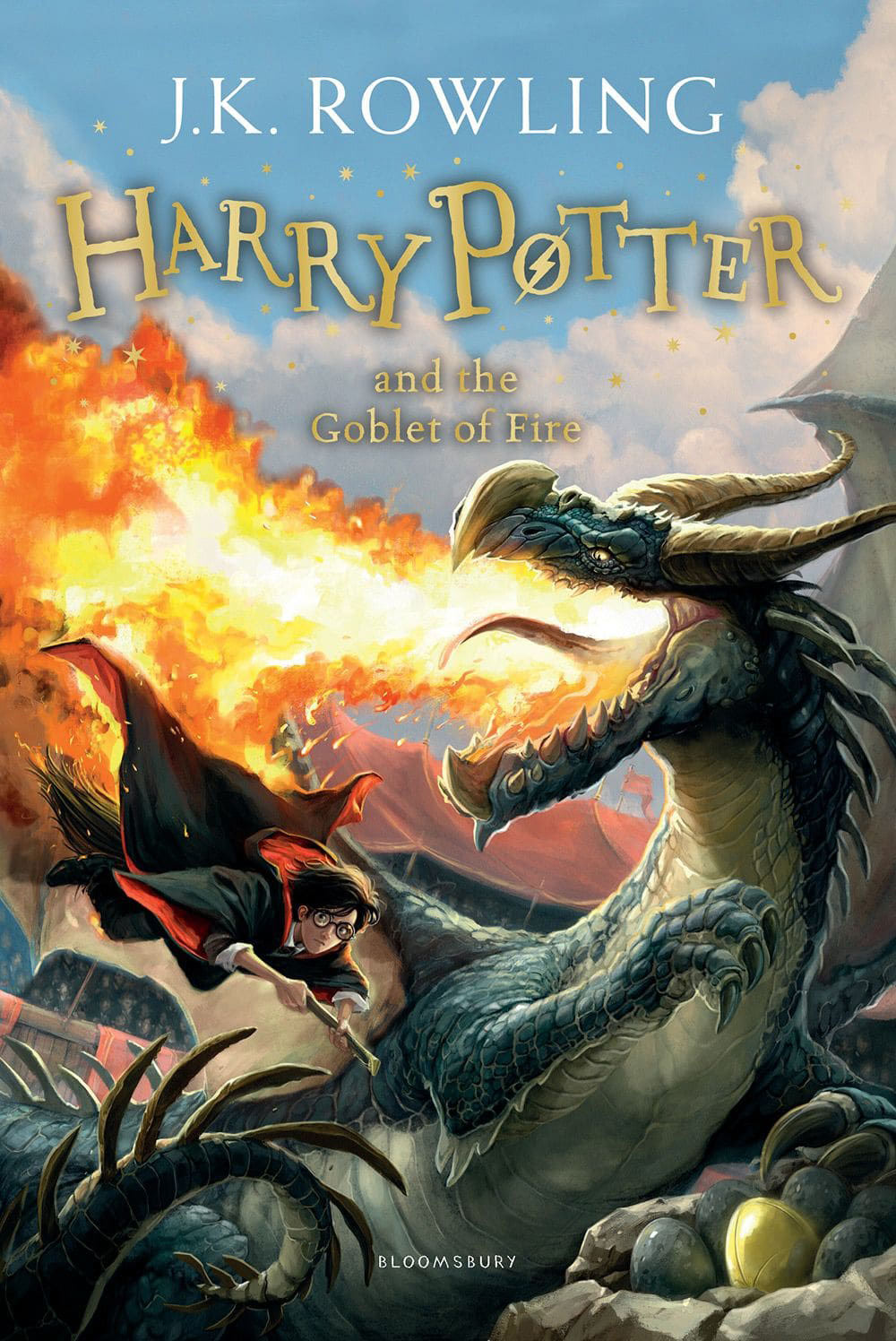 'Goblet of Fire' UK children's edition (2014)