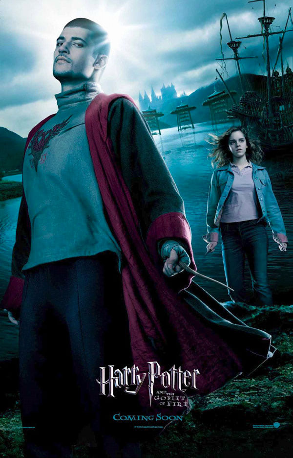 'Goblet of Fire' Krum & Hermione poster