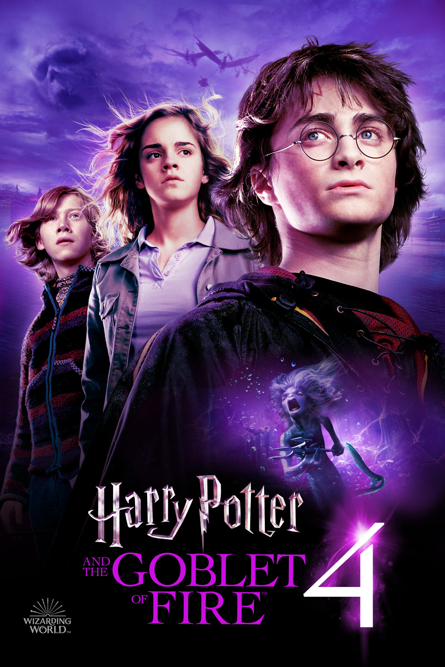 'Goblet of Fire' Wizarding World poster