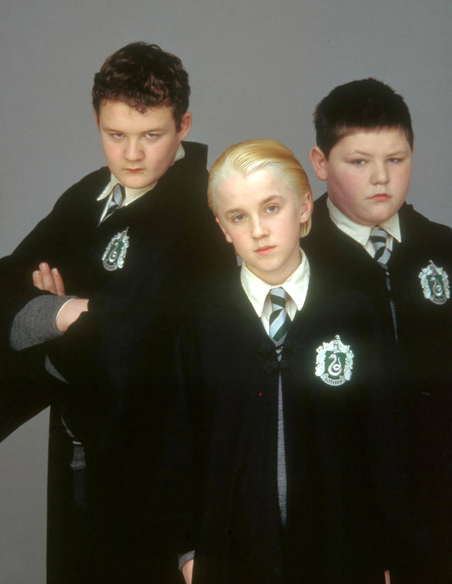Portrait of Goyle, Draco and Crabbe