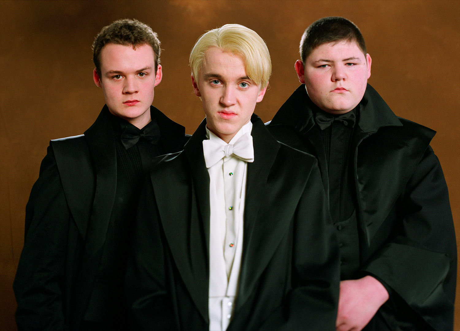 Goyle, Draco and Crabbe Yule Ball portrait