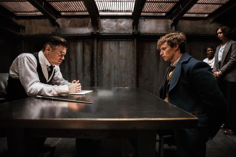 Graves interrogates Newt