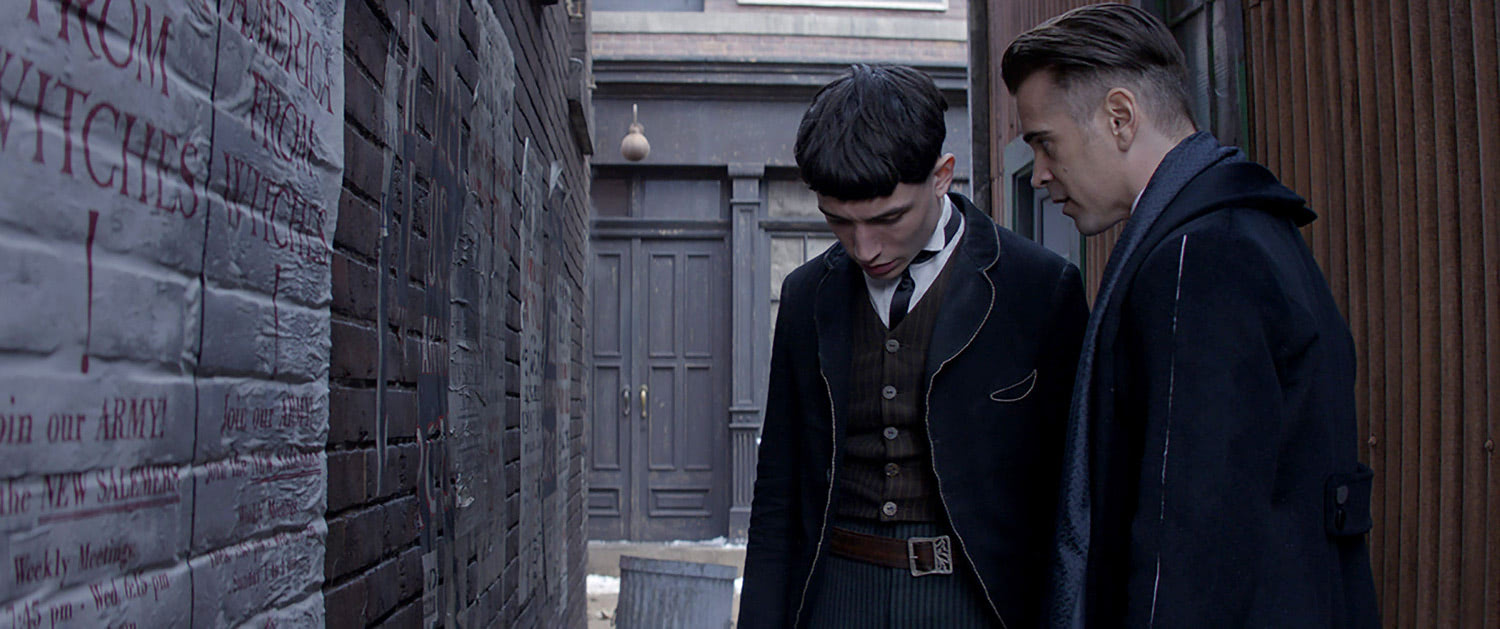 Graves talks to Credence