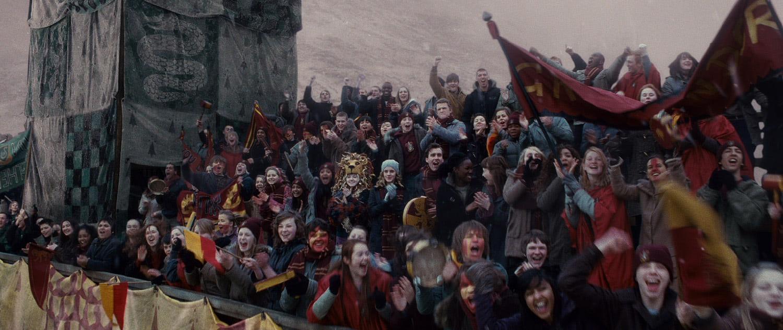 Gryffindor Quidditch spectators