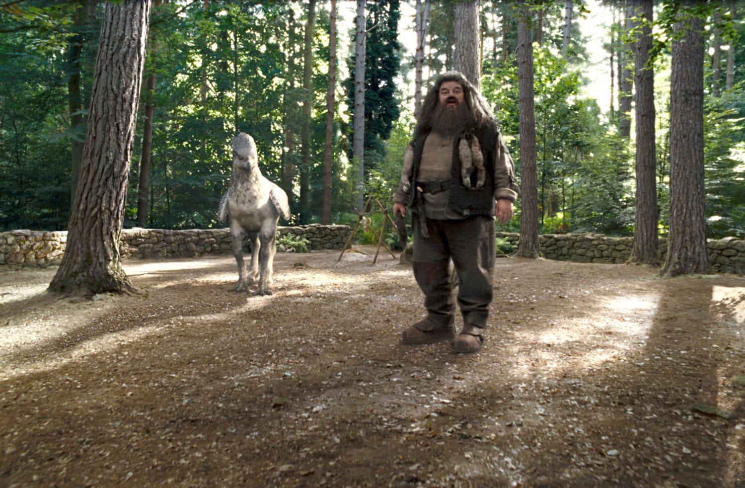 Hagrid and Buckbeak
