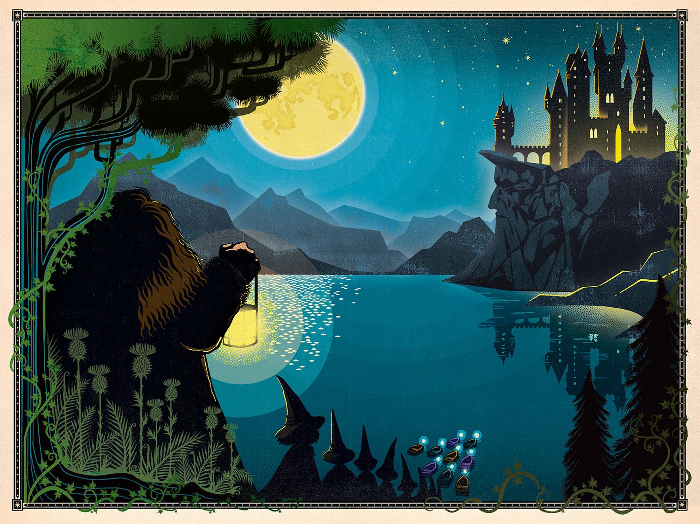 Hagrid and Hogwarts.