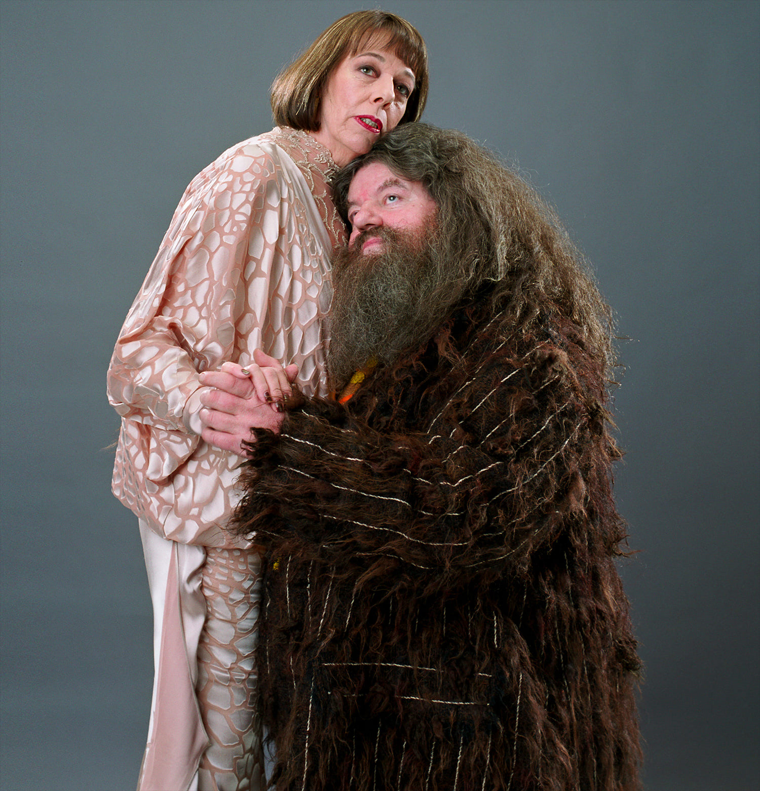 Madame Maxime and Hagrid Yule Ball portrait