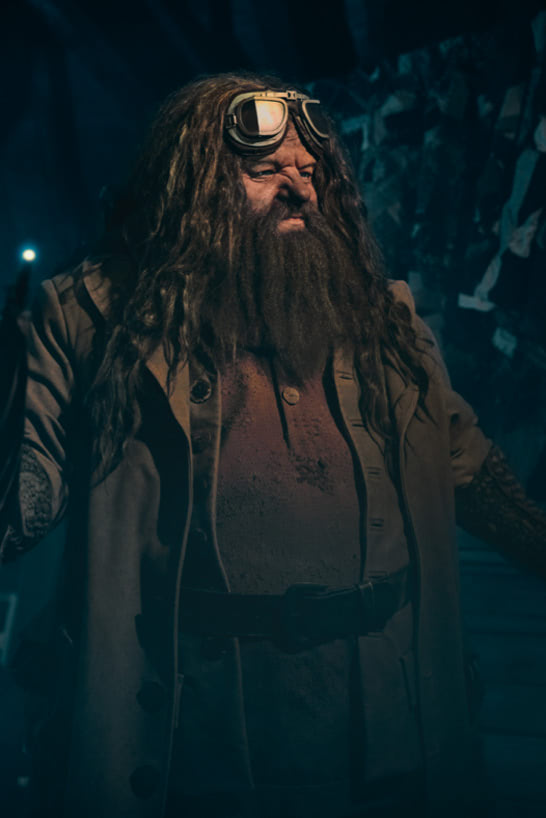 Rubeus Hagrid animatronic figure