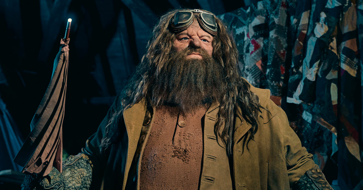 First look at Hagrid animatronic from upcoming 'Magical Creatures' attraction