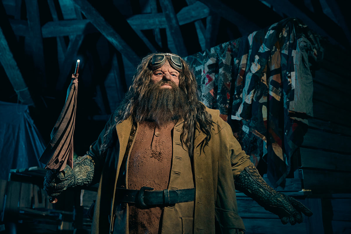 Rubeus Hagrid animatronic