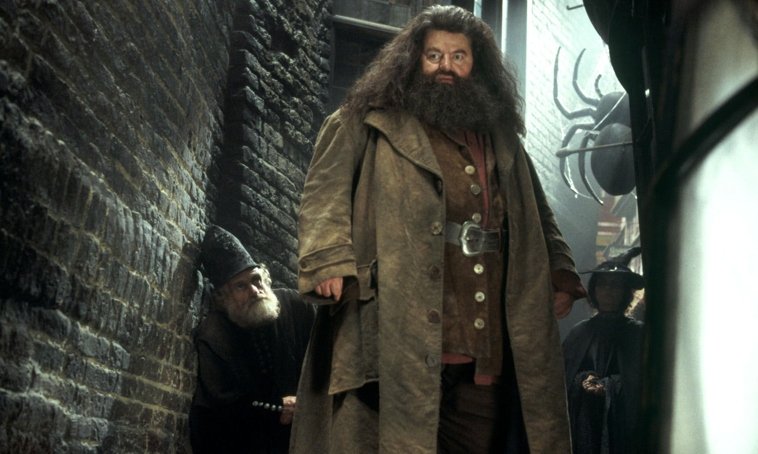 Hagrid down Knockturn Alley