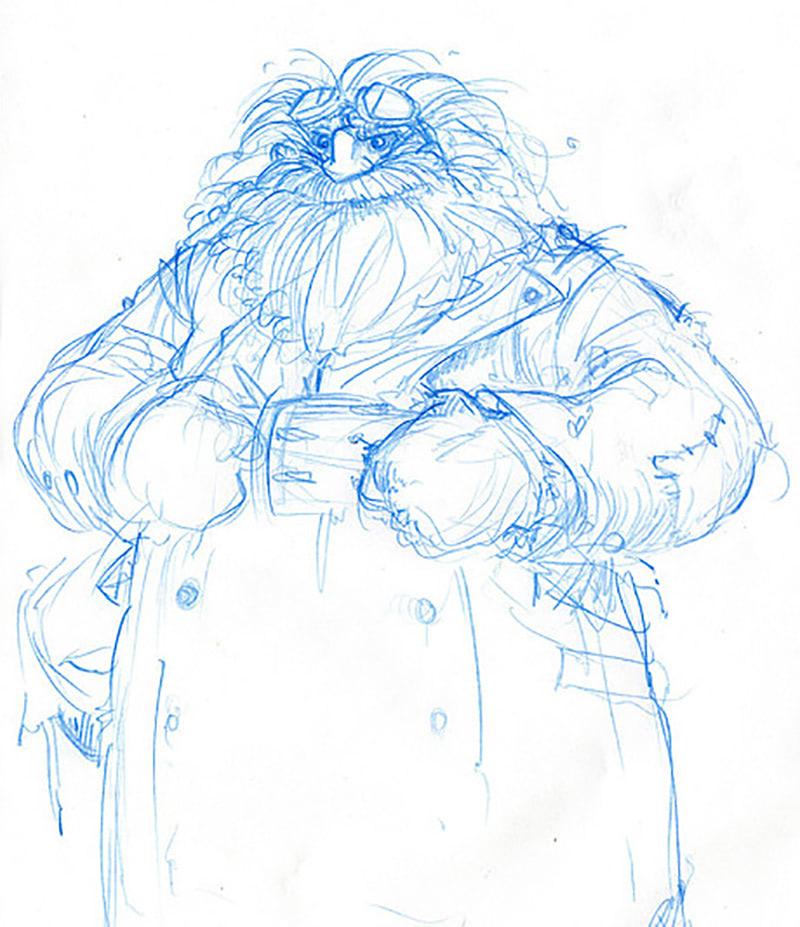 Hagrid (Jonny Duddle sketch)