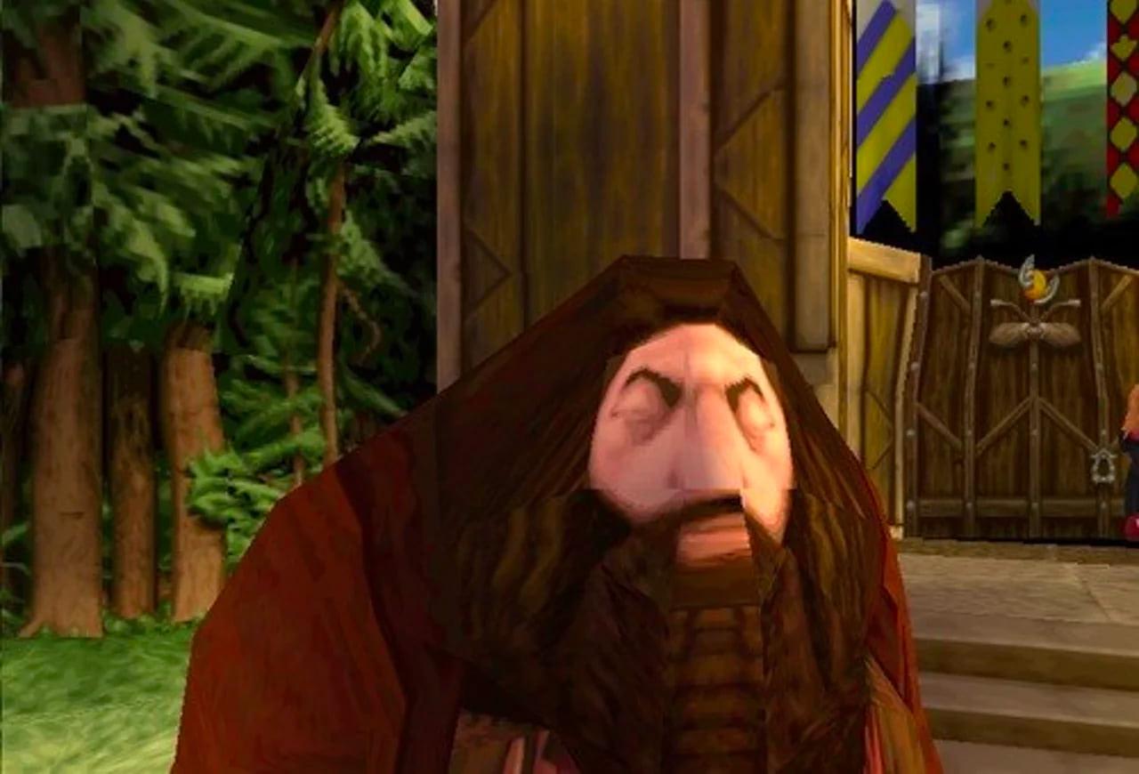 Hagrid (Sorcerer's Stone video game)