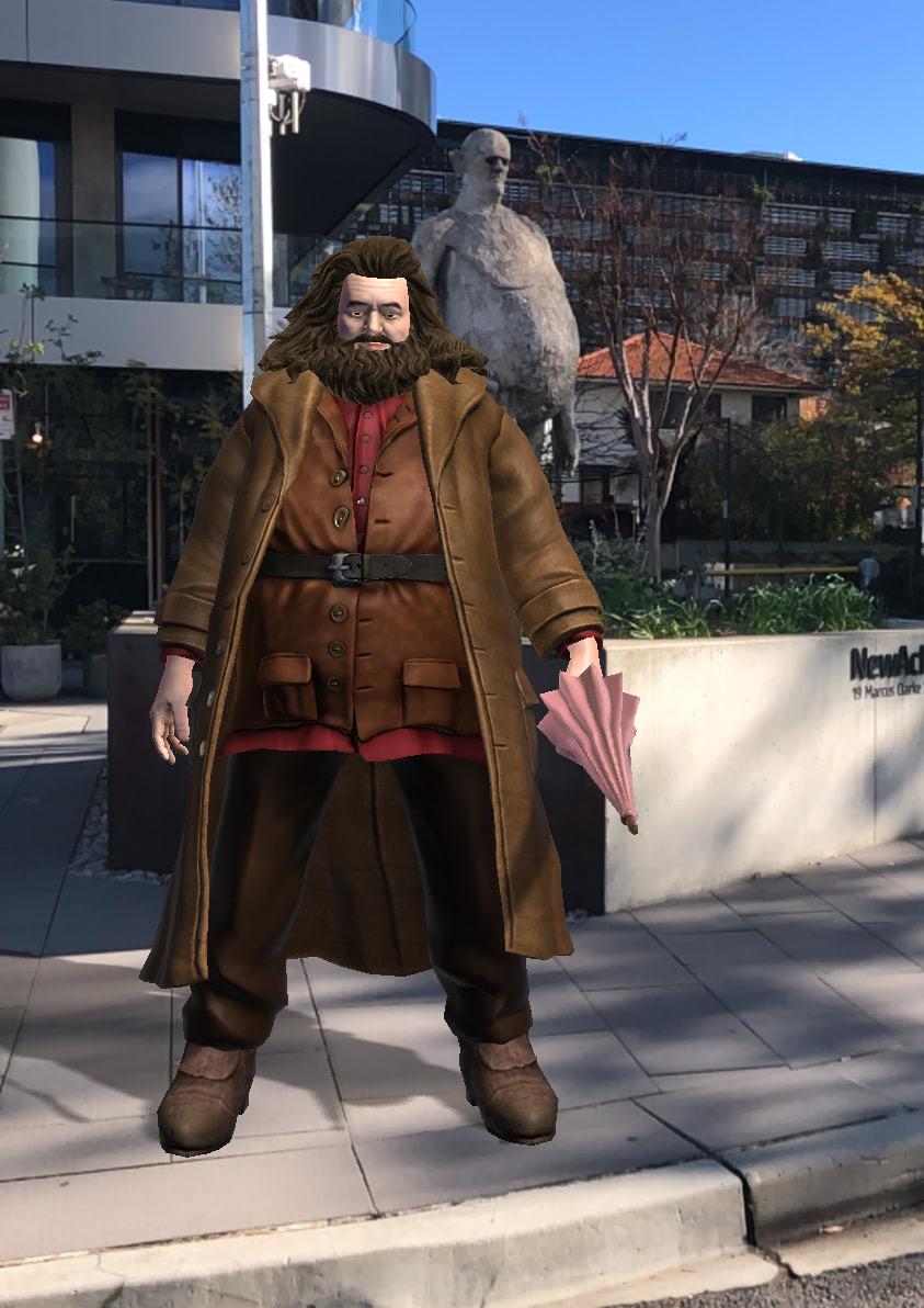 Rubeus Hagrid (Wizards Unite)