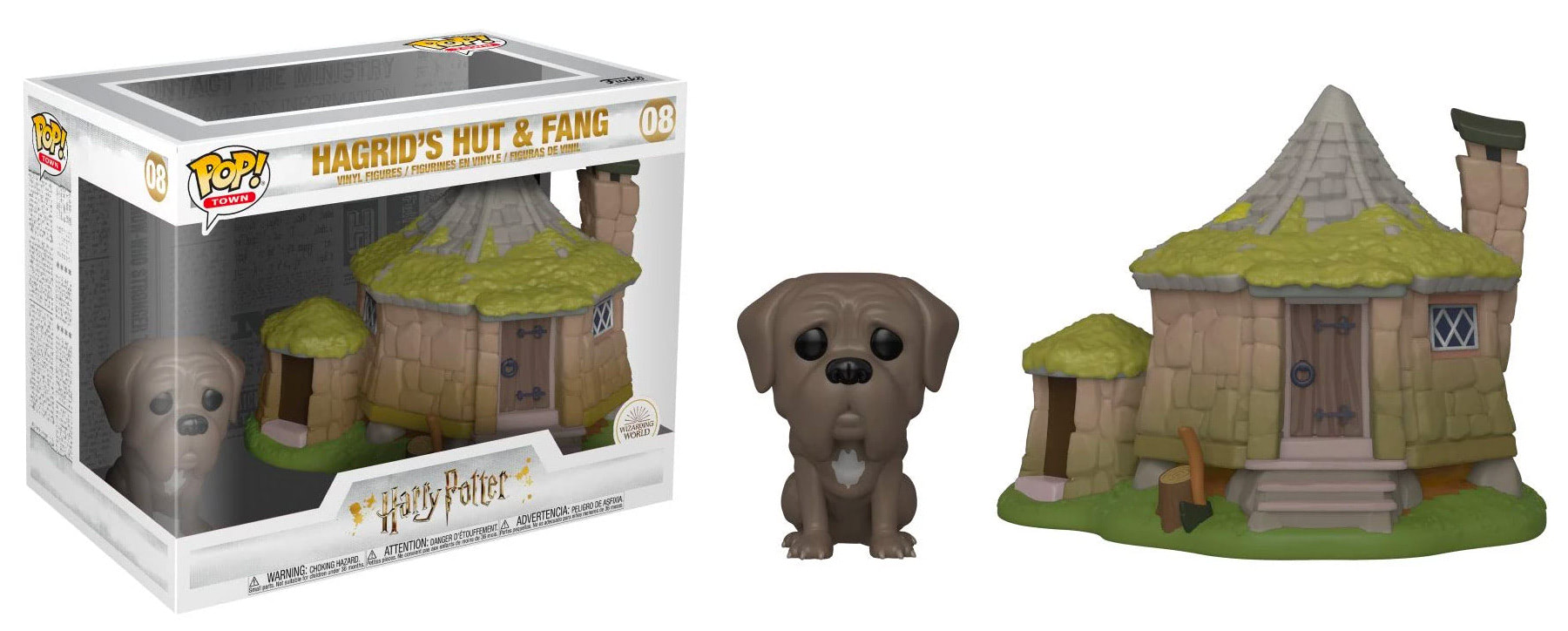 Hagrid's Hut & Fang Pop! Town