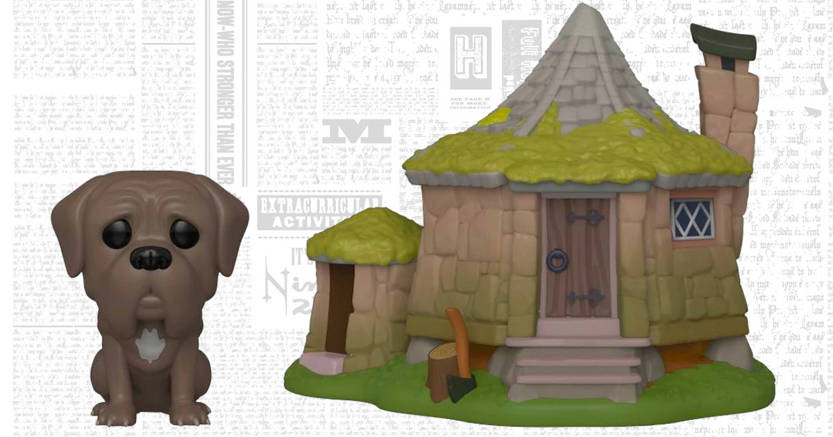 Hagrid's Hut and Fang the Boarhound Funko Pop! figures coming soon