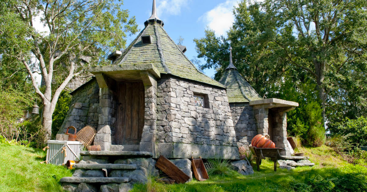 See Hagrid's Hut at 'The Wizarding World of Harry Potter' theme park