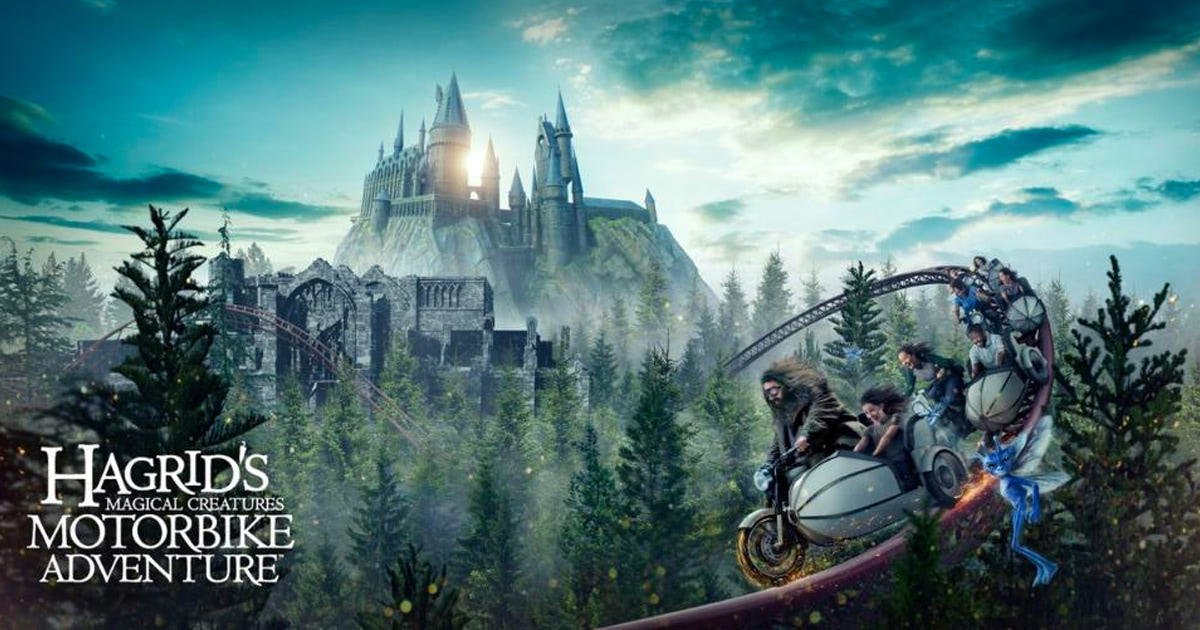 'Hagrid's Magical Creatures Motorbike Adventure' coming to Orlando's 'Harry Potter' theme park