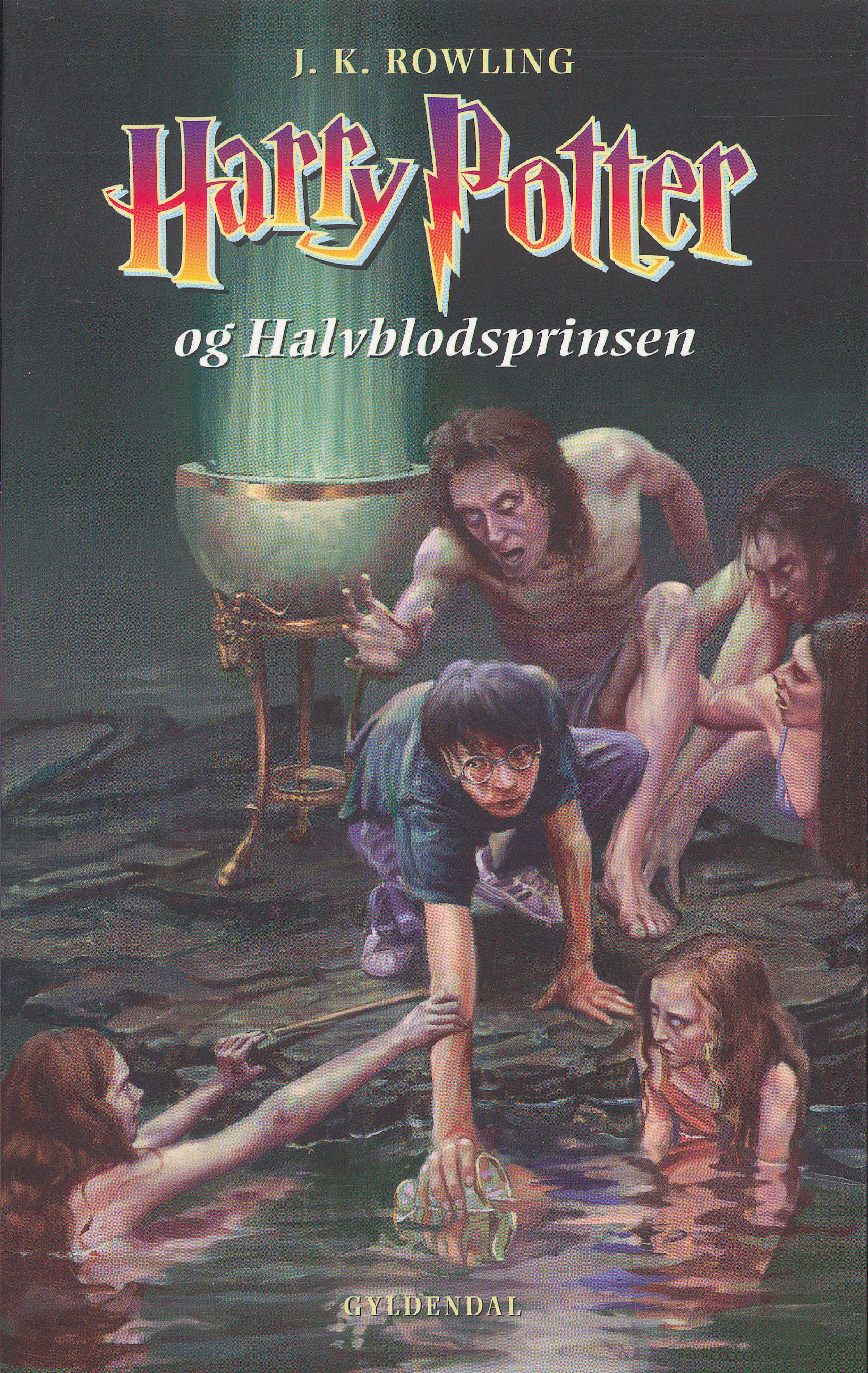 'Half-Blood Prince' Danish edition