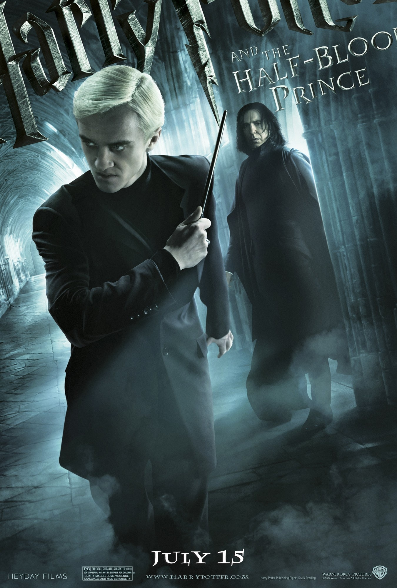 'Half-Blood Prince' Draco & Snape poster