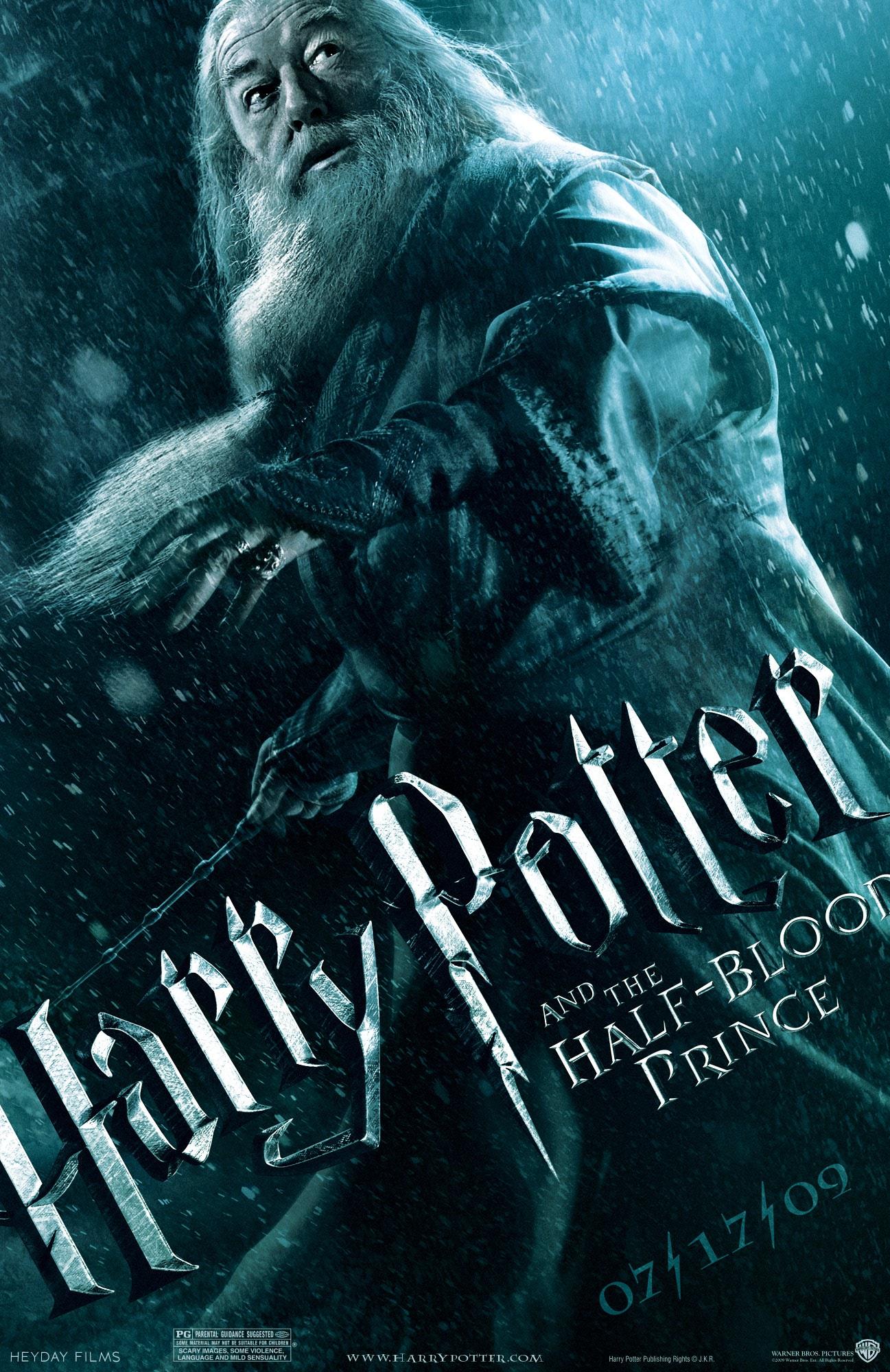 'Half-Blood Prince' Dumbledore poster