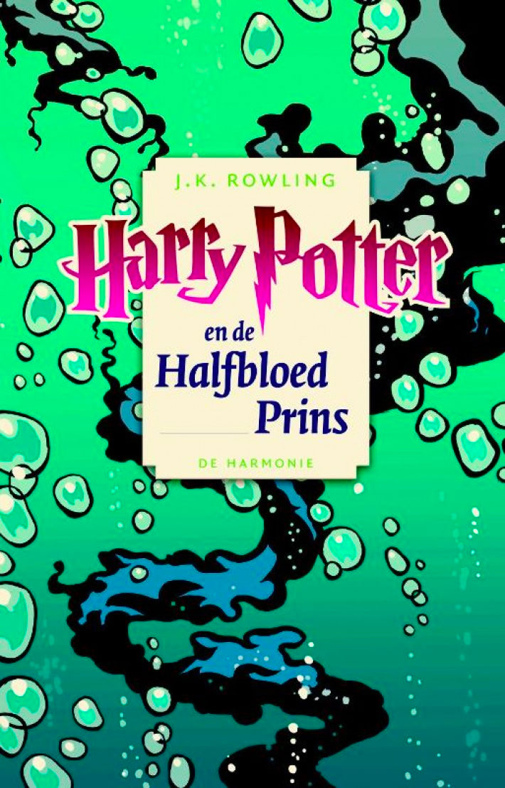 'Half-Blood Prince' Dutch pocket edition