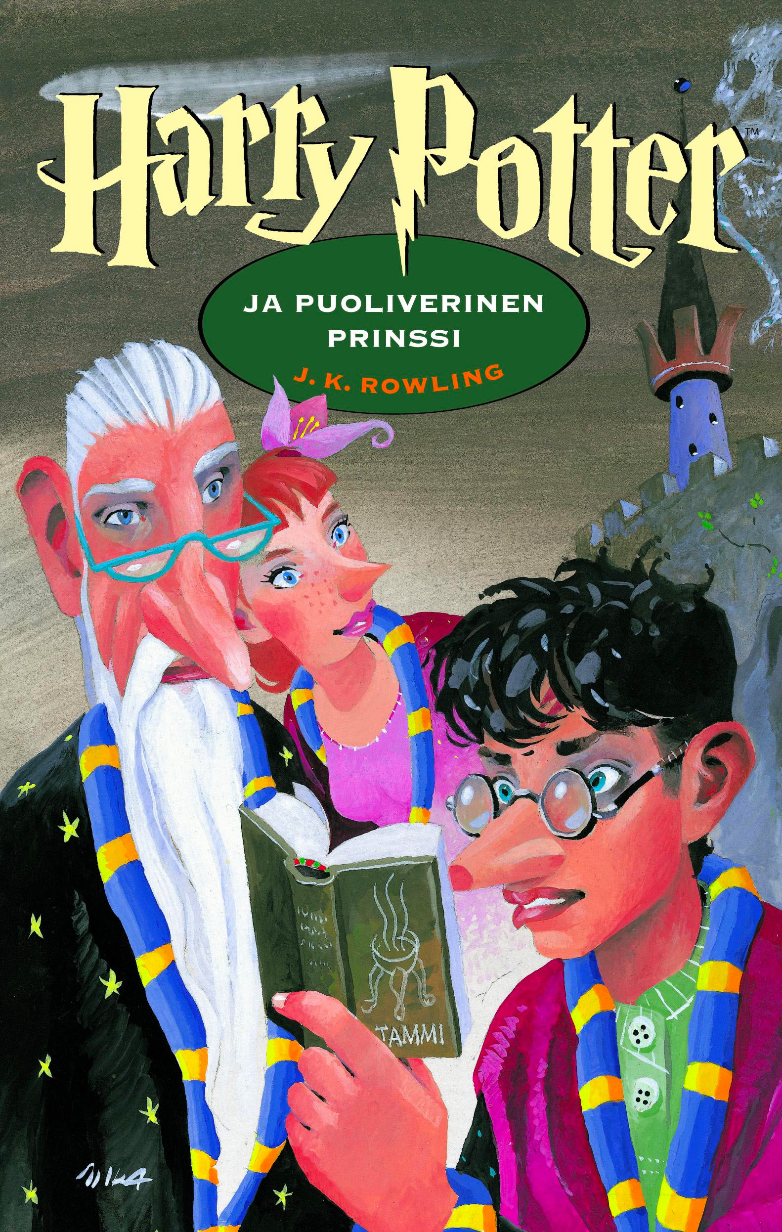 'Half-Blood Prince' Finnish edition