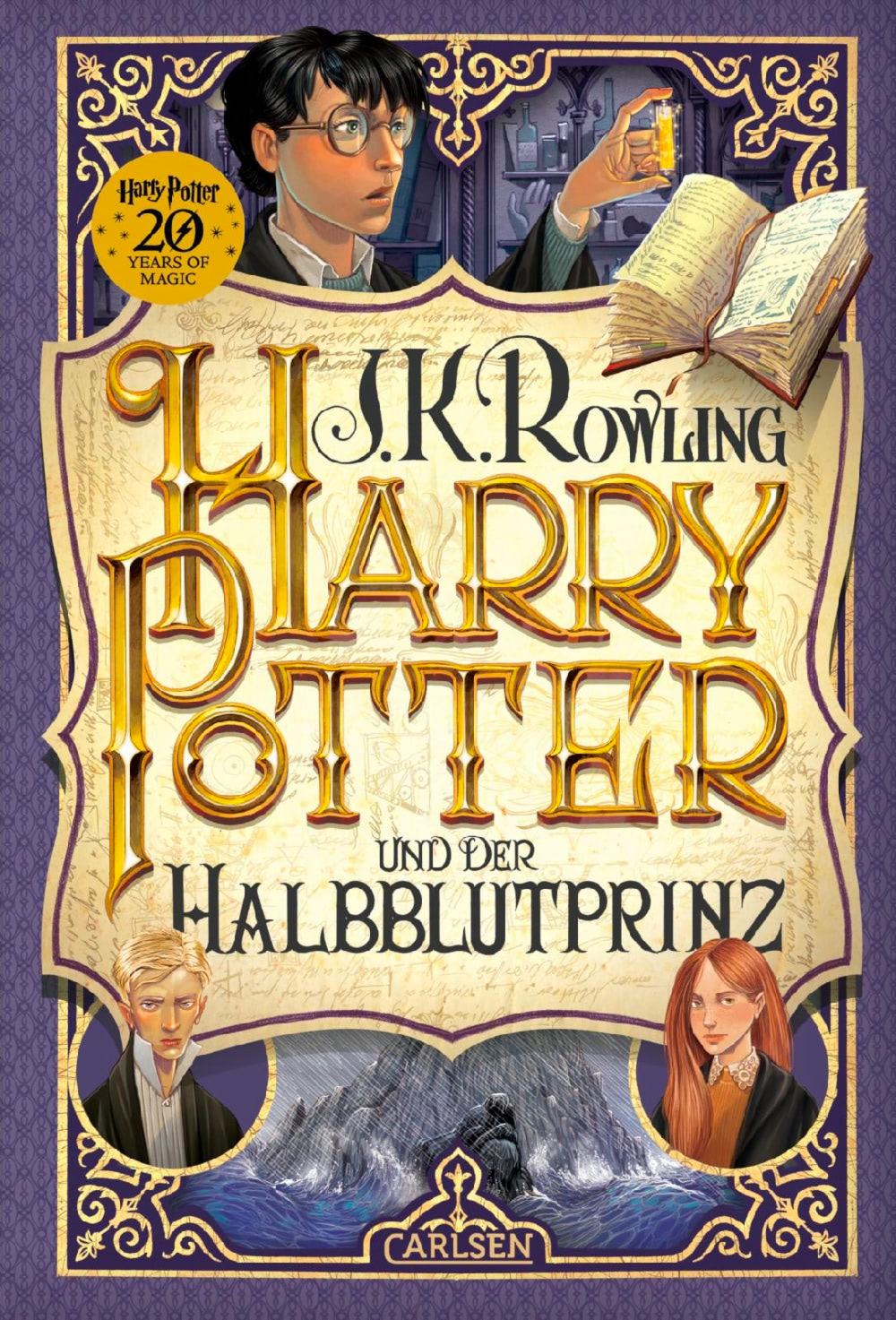 'Half-Blood Prince' German '20 Years of Magic' edition
