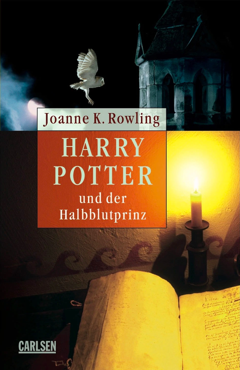 'Half-Blood Prince' German adult edition