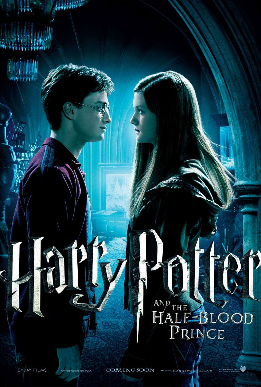 'Half-Blood Prince' Harry & Ginny poster