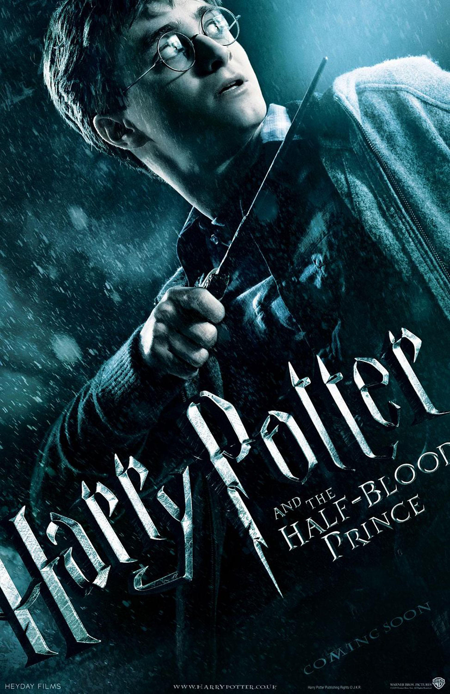 'Half-Blood Prince' Harry poster