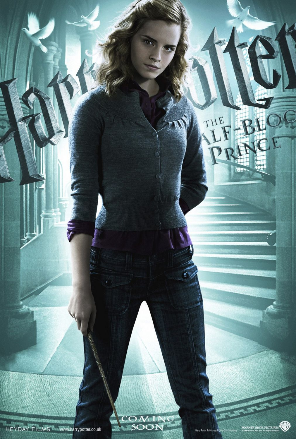 'Half-Blood Prince' Hermione poster