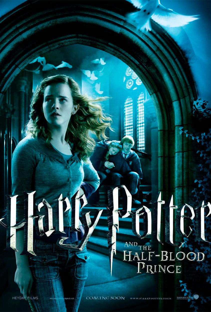 'Half-Blood Prince' Hermione, Ron & Lavender poster