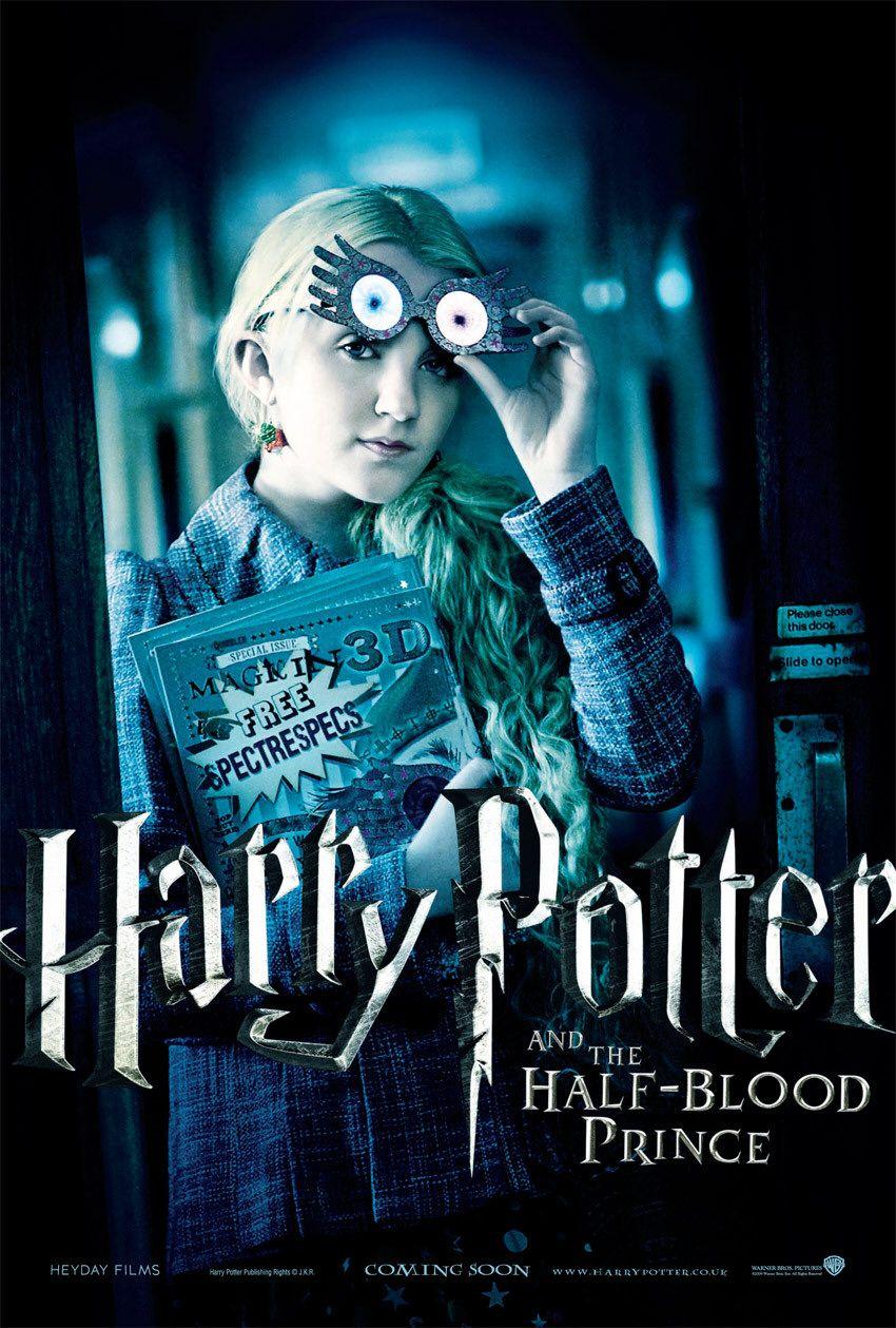 'Half-Blood Prince' Luna poster