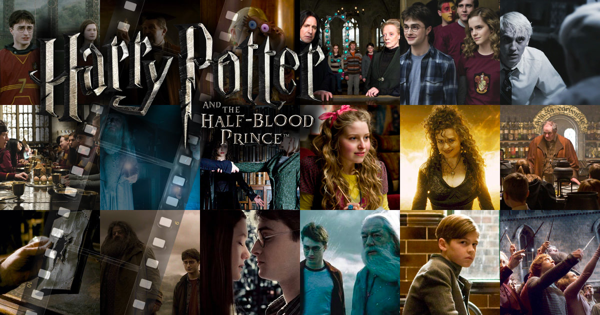 'Half-Blood Prince' movie stills