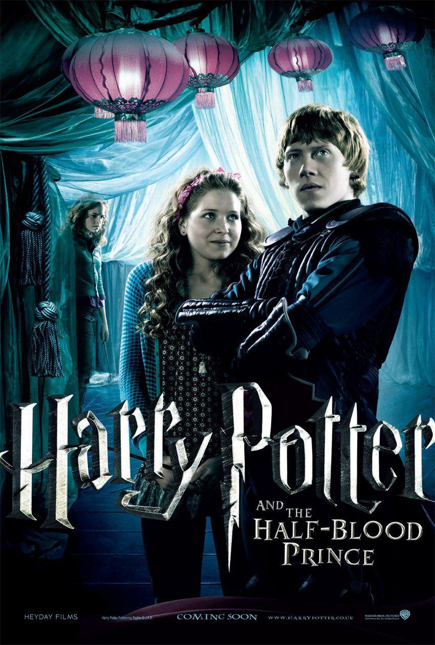'Half-Blood Prince' Ron & Lavender poster
