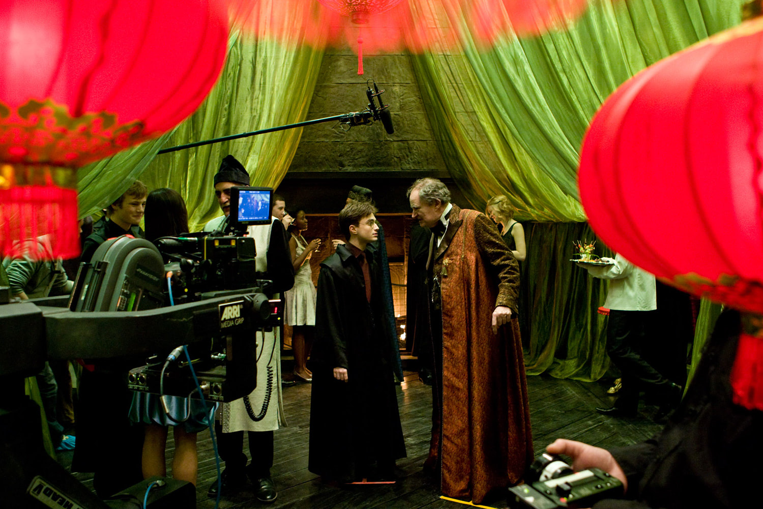 Shooting Slughorn's party