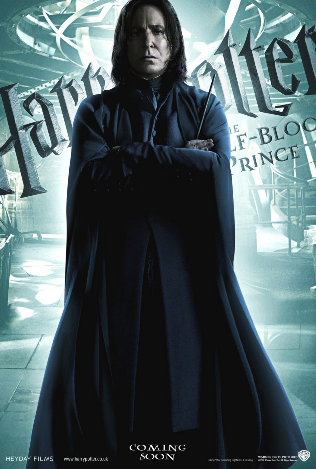 'Half-Blood Prince' Snape poster