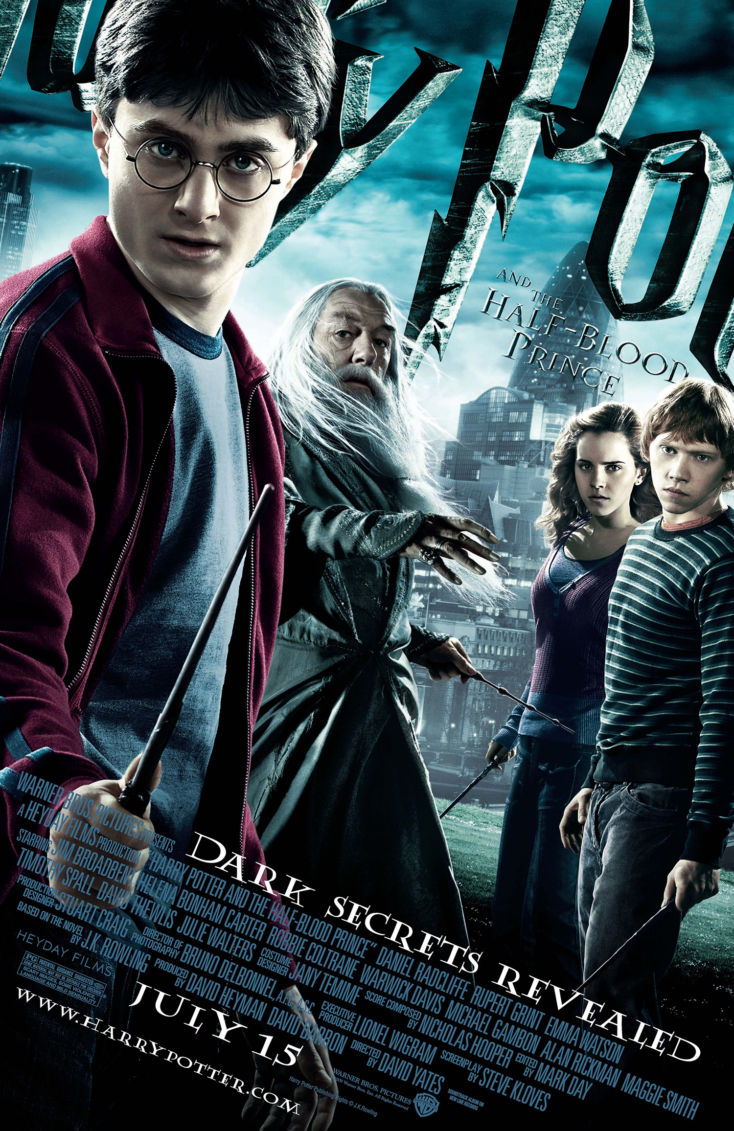 'Half-Blood Prince' theatrical poster
