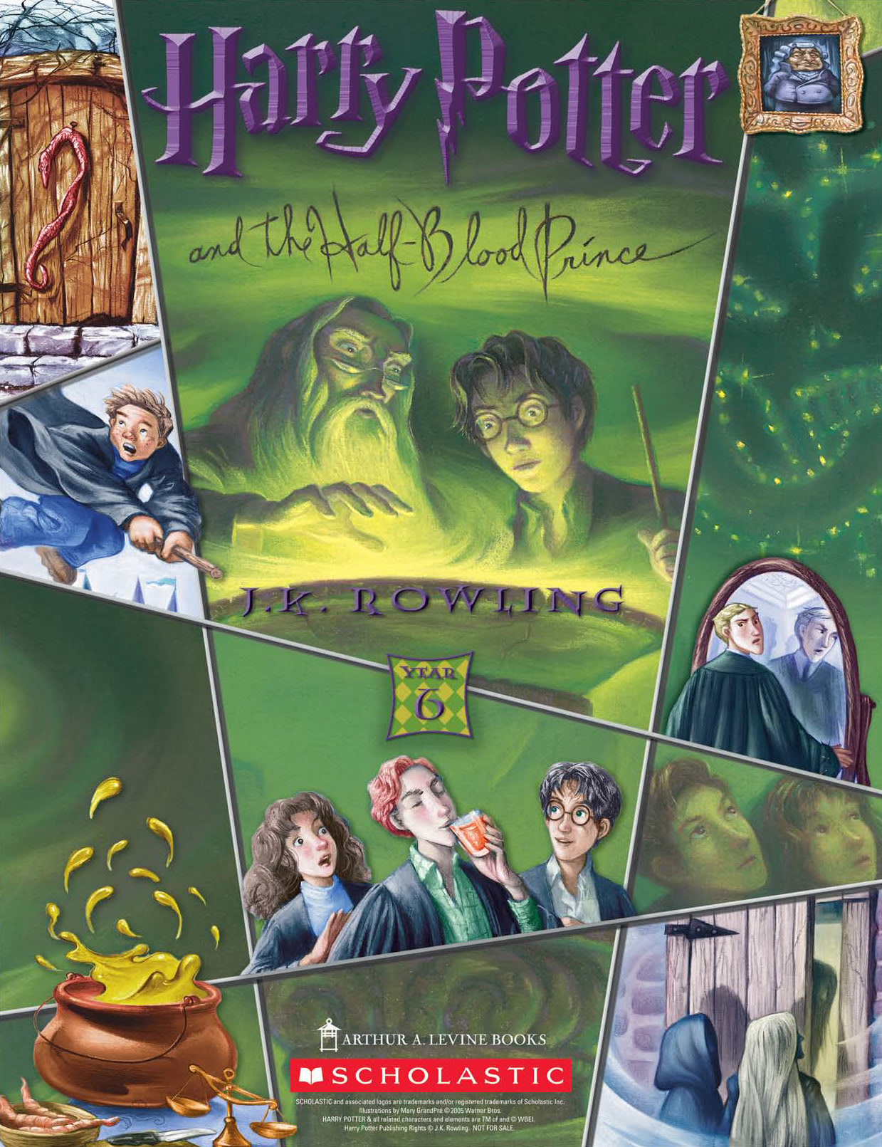 'Half-Blood Prince' (Year 6) Scholastic promotional poster