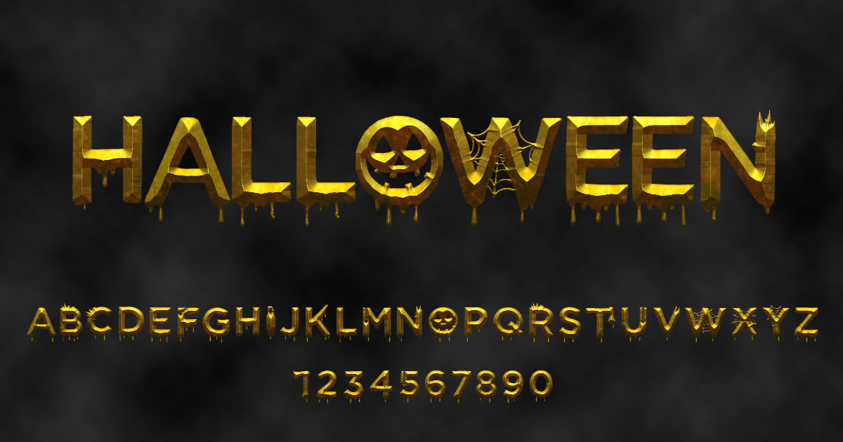 Download free 'Halloween' font