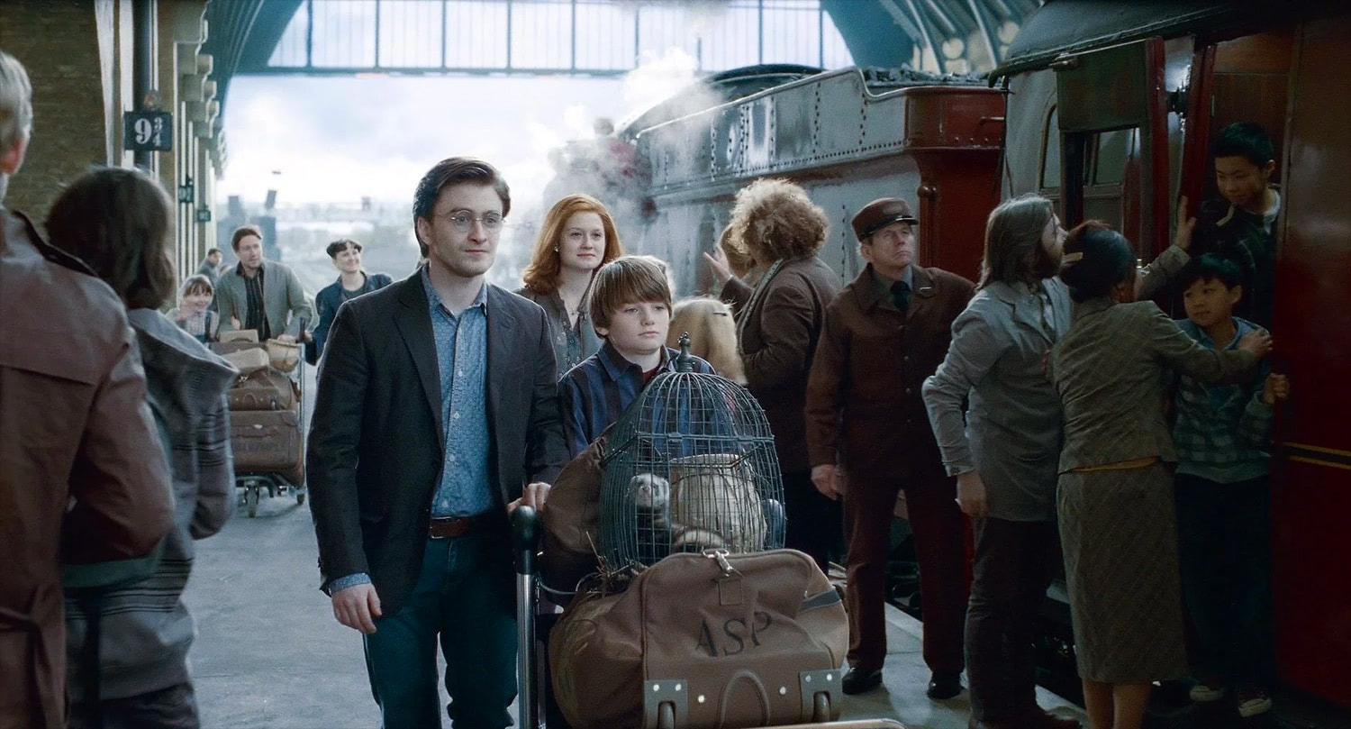 Harry and Albus Potter