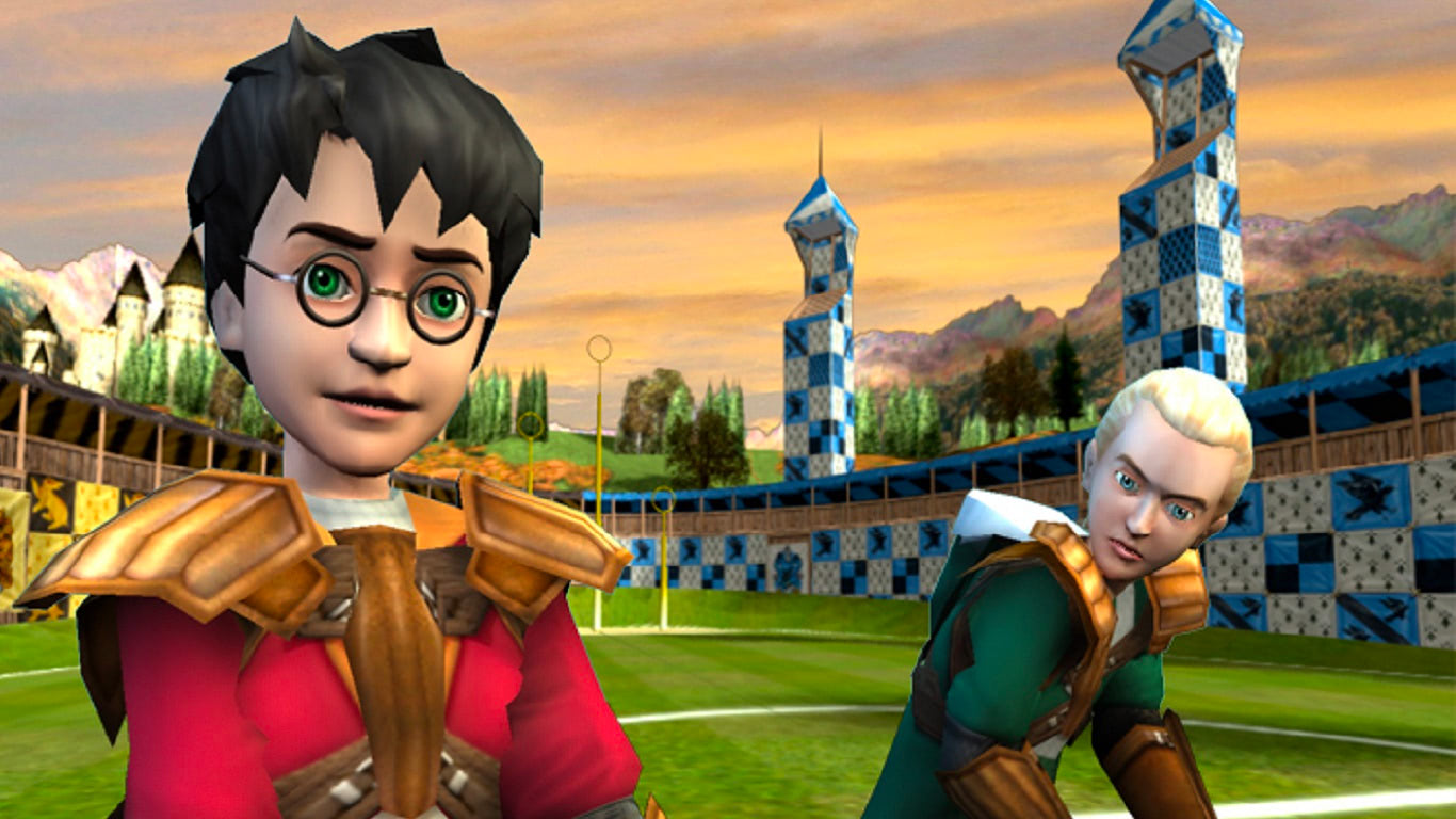 Harry and Draco (Quidditch World Cup video game)