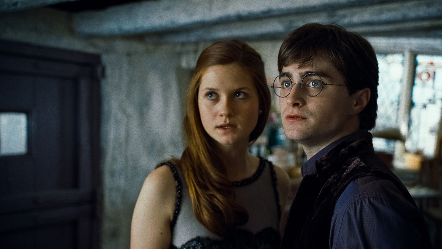 Harry and Ginny at The Burrow