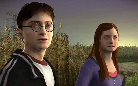 Harry and Ginny (Half-Blood Prince video game)