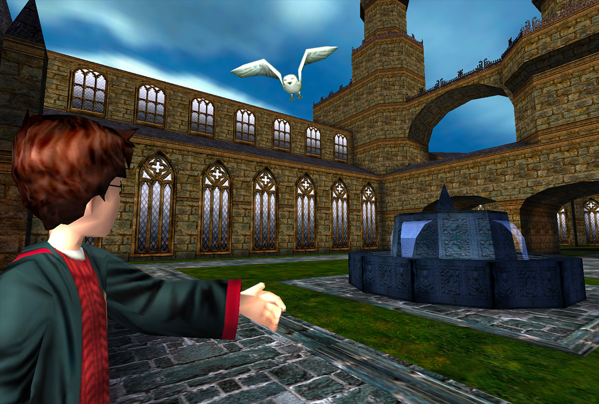 Harry and Hedwig (Sorcerer's Stone video game)