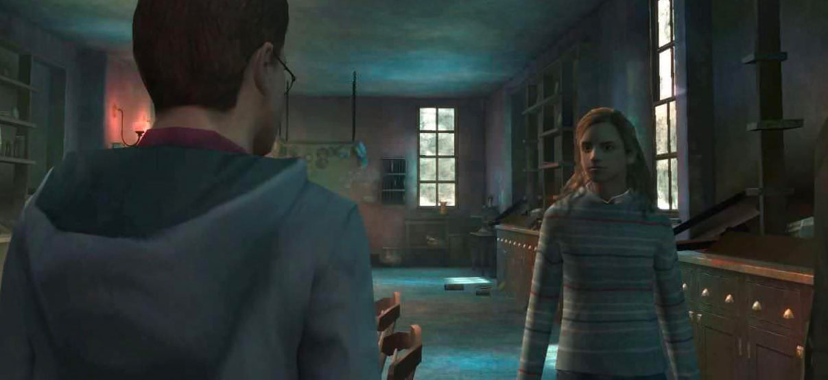 Harry and Hermione (Order of the Phoenix video game)