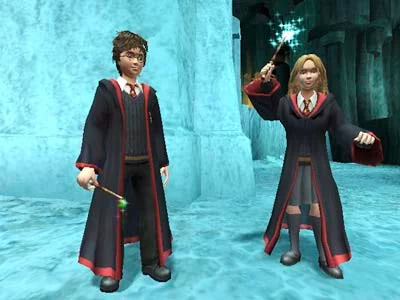 Harry and Hermione (Prisoner of Azkaban video game)