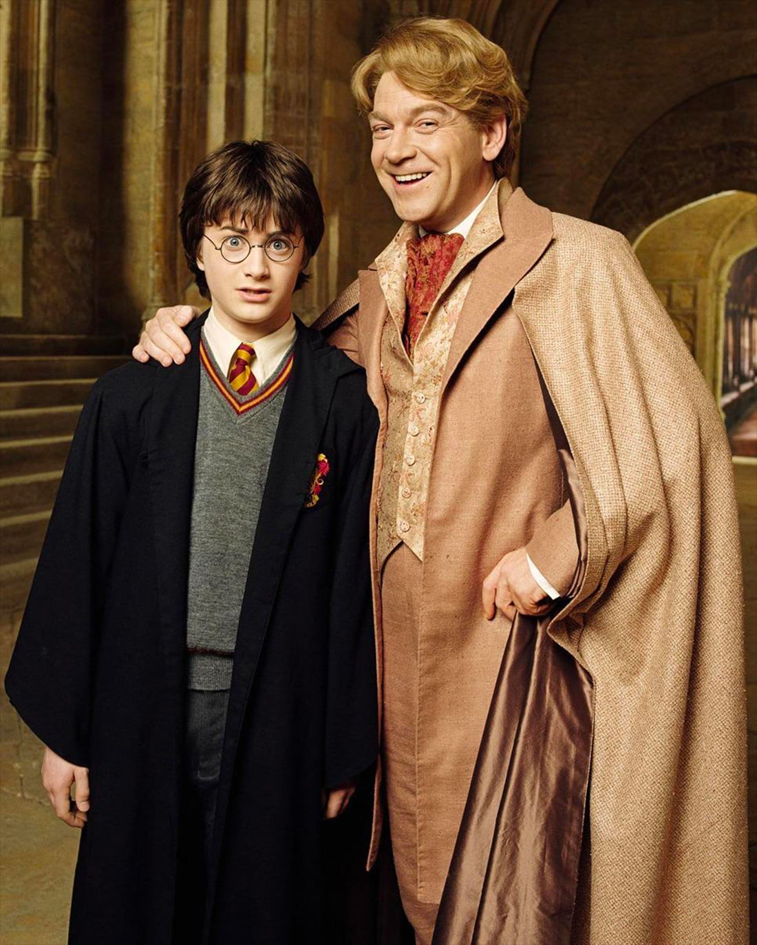 Portrait of Harry Potter and Gilderoy Lockhart