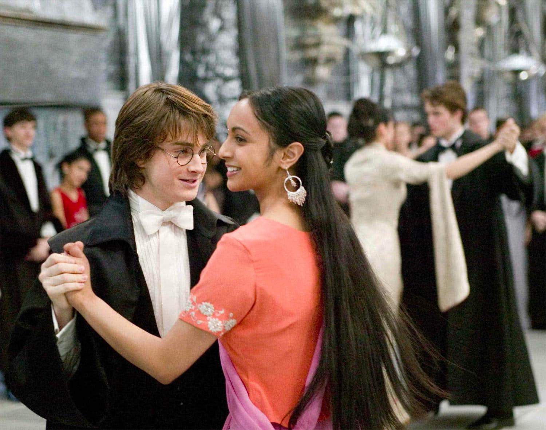 Harry and Parvati dance